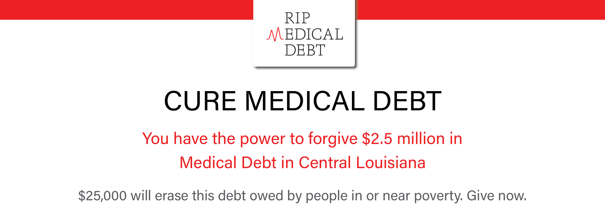 Central Louisiana Debt relief